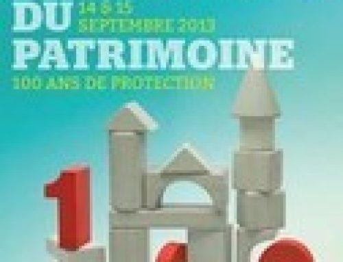 Journées Européennes du Patrimoine – Jura et Ain
