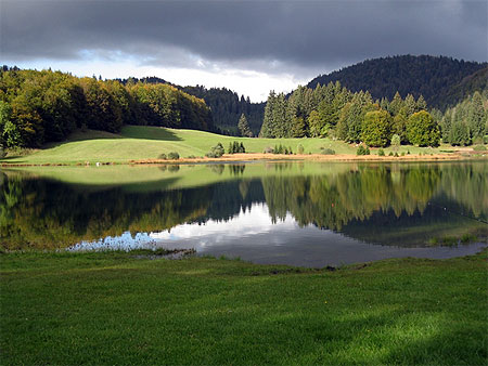 le lac de Genin (jura) Lac-Genin21